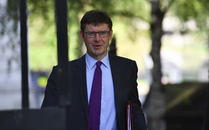 FILE: Britain's Business Secretary Greg Clark arrives at 10 Downing Street in central London on May 8, 2018 for the weekly cabinet meeting. Picture: AFP