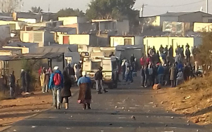 FILE: Police on patrol in Mahube Valley in Mamelodi. Picture: Twitter/@CTmashanyu.