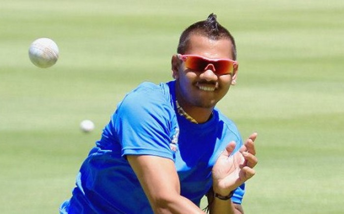 Sunil Narine during the Nashua Mobile Cape Cobras media open day at Sahara Park Newlands on January 21, 2014 in Cape Town. Picture: Facebook.com.
