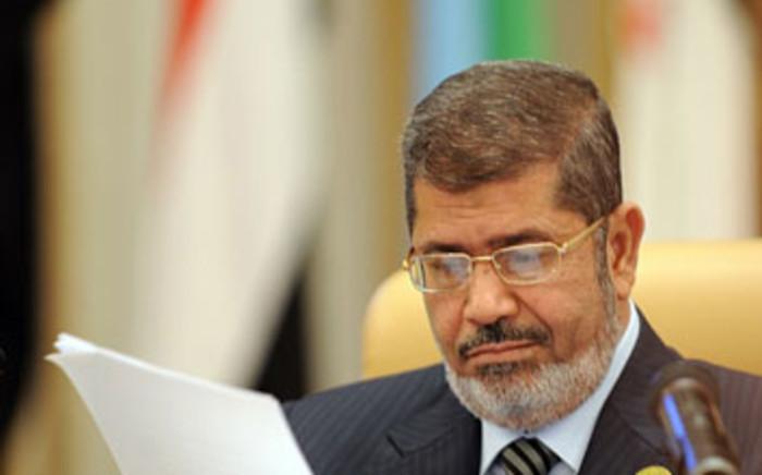 Egypt's ousted president Mohamed Morsi. Picture: EWN.