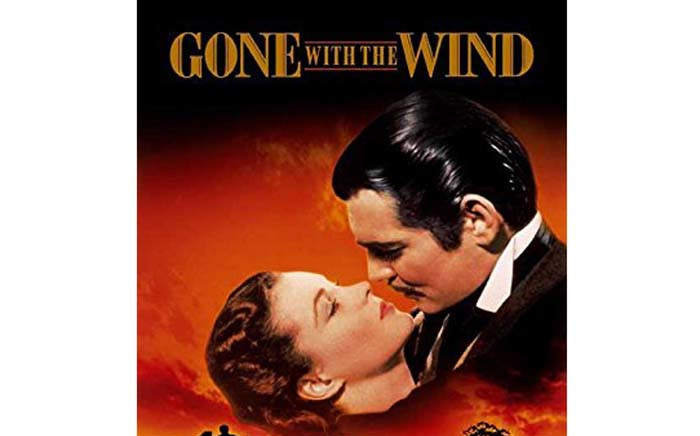 A poster for 'Gone With The Wind'