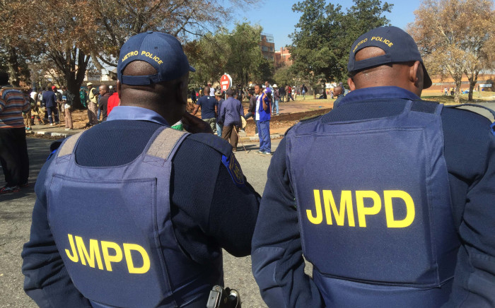 FILE: JMPD officers. Picture: Reinart Toerien/EWN.