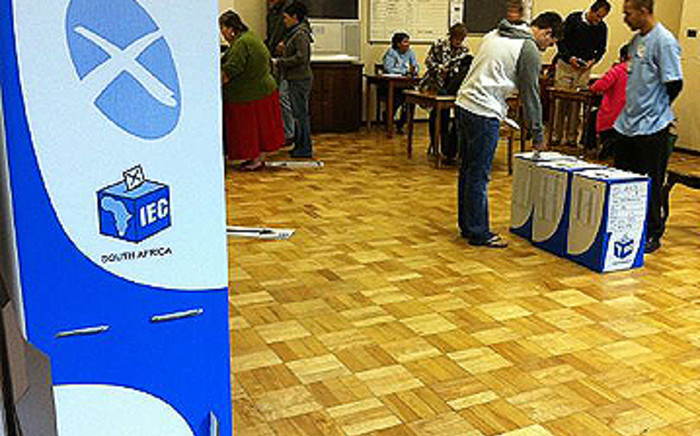 FILE: Voters cast their ballots. Picture: EWN