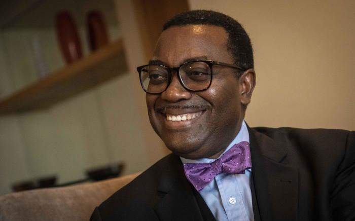 President of the African Development Bank, Akinwumi Adesina. Picture: Abigail Javier/EWN