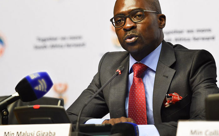 FILE: Former Home Affairs Minister Malusi Gigaba. Picture: GCIS