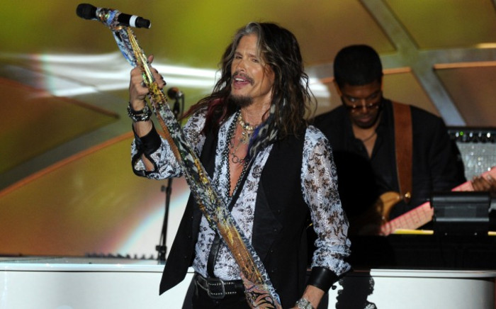 Singer and songwriter Steven Tyler performs during the 21st annual Race to Erase MS at the Hyatt Regency Century Plaza on 2 May 2014 in Century City. Picture: AFP.