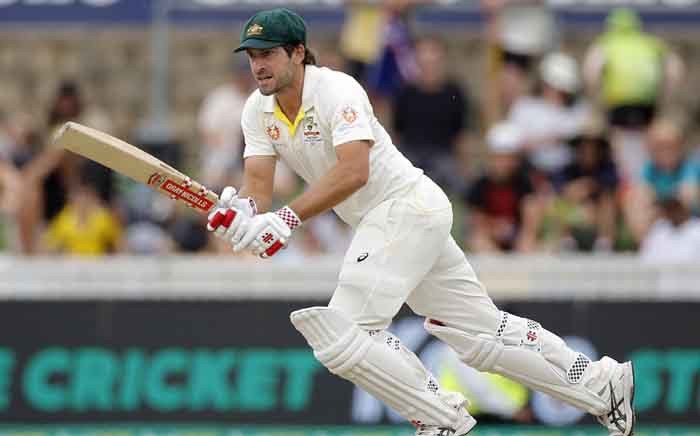 Australia's Joe Burns in action during his team's second Test against Sri Lanka in Canberra. Picture: @cricketcomau/Twitter