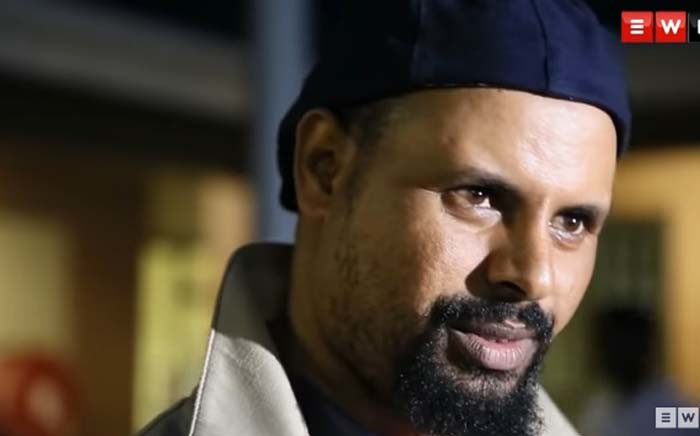 A screengrab of Ethiopian businessman Jamal Mohammed. Picture: EWN.
