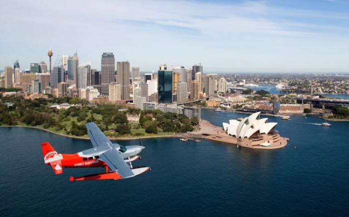 FILE: A Sydney Seaplane crashed on 31 December 2017. Six people were killed during the crash. Picture: seaplanes.com.au