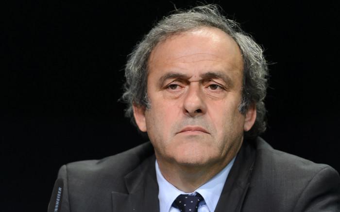 Michel Platini. Picture: AFP.