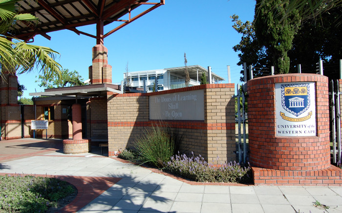 The University of Western Cape. Picture: University of Western Cape.
