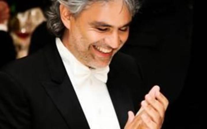 Opera maestro Andrea Bocelli. Picture: Supplied