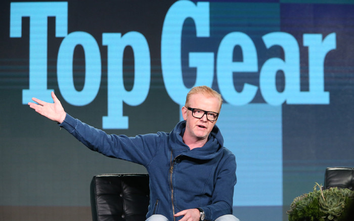 FILE: Host Chris Evans speaks onstage during the Top Gear panel as part of the BBC America portion of This is Cable 2016 Television Critics Association Winter Tour at Langham Hotel on January 8, 2016 in Pasadena, California. Picture: AFP.
