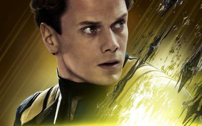Anton Yelchin in the poster for 'Star Trek Beyond'