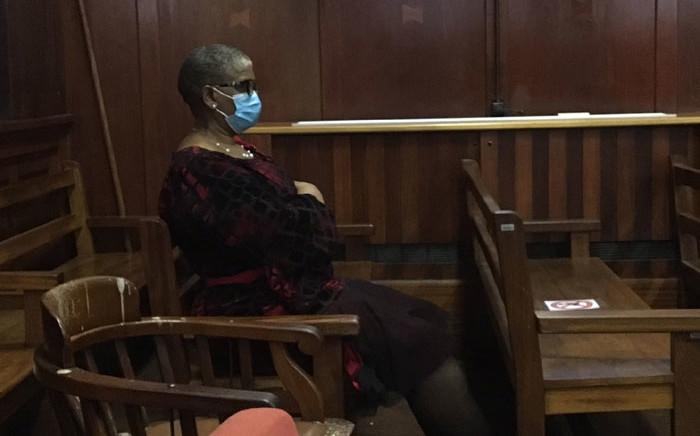 Former eThekwini mayor, Zandile Gumede, appears in the Durban High Court on 14 June 2021. Picture: Nkosikhona Duma/Eyewitness News