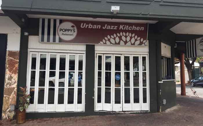 Poppy's Restaurant in Melville where 8 people were shot at in a drive-by shooting in the early hours of 1 January 2020. Picture: Edwin Ntshidi/EWN