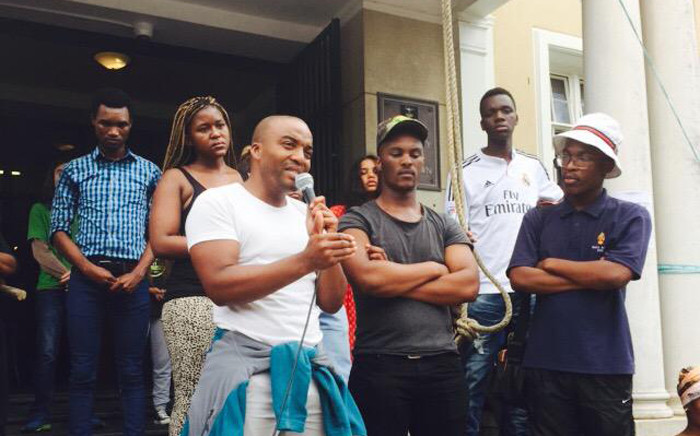 FILE: Controversial University of Cape Town (UCT) student Chumani Maxwele on Thursday said he will appeal his suspension. Picture: Masa Kekana/EWN