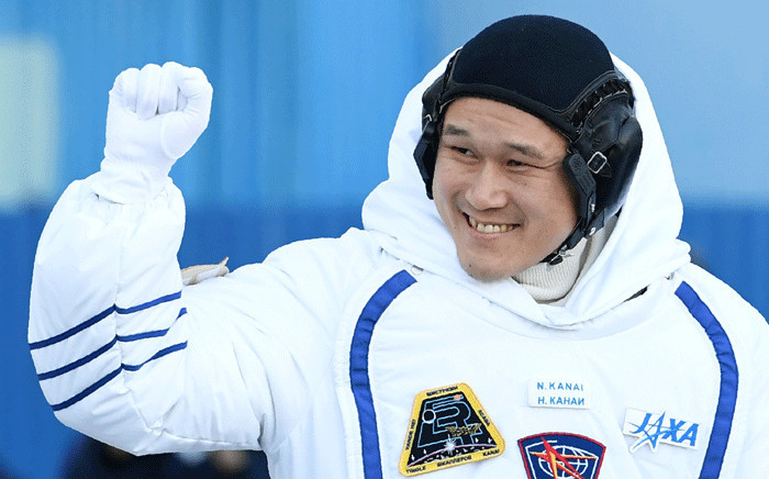 Member of the International Space Station (ISS) expedition 53/54, Norishige Kanai of the Japan Aerospace Exploration Agency (JAXA) on 17 December 2017. Picture: AFP.