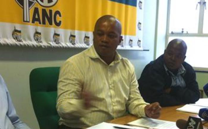 ANC provincial secretary in the Western Cape Songezo Mjongile. Picture: EWN.