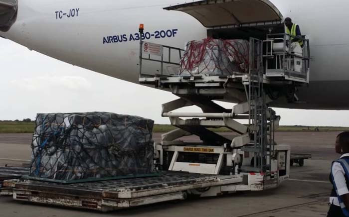 The first batch of 4000 Ebola vaccine doses just arrived in Kinshasa, the Democratic Republic of the Congo. Picture: @WHOAFRO/Twitter.