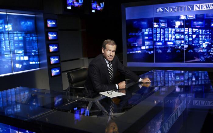 NBC anchor Brian Willaims. Picture: Brian Williams FB.