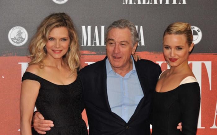 Michelle Pfeiffer and Robert De Niro AFP