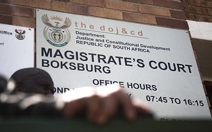 The Boksburg Magistrate Court. Picture: Sethembiso Zulu/EWN