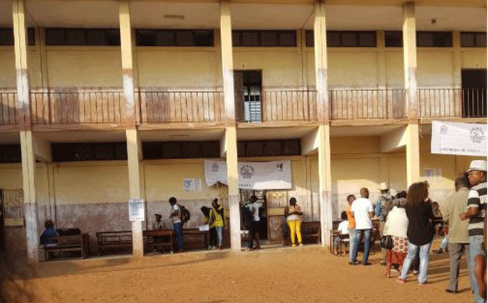 Bagamoyo Primary School is one of the voting station in Maputo. Picture: Supplied.