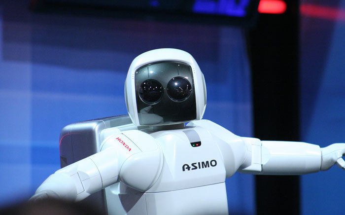 FILE: Honda's Asimo robot. Picture: AZAdam via Flickr/Wikimedia Commons.