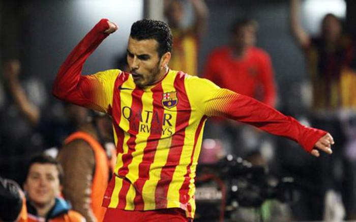 Pedro scored a hat-trick as Barcelona beat Getafe 5-2.