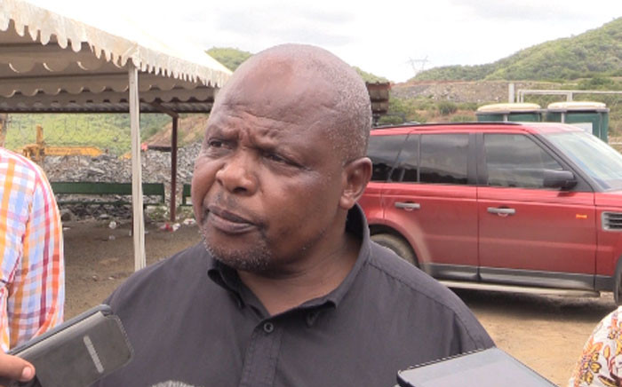 Yvonne Mnisi's father Almond, who is also a Lily Mine employee, says he has not given up hope that his daughter is still alive. Picture: Kgothatso Mogale/EWN.