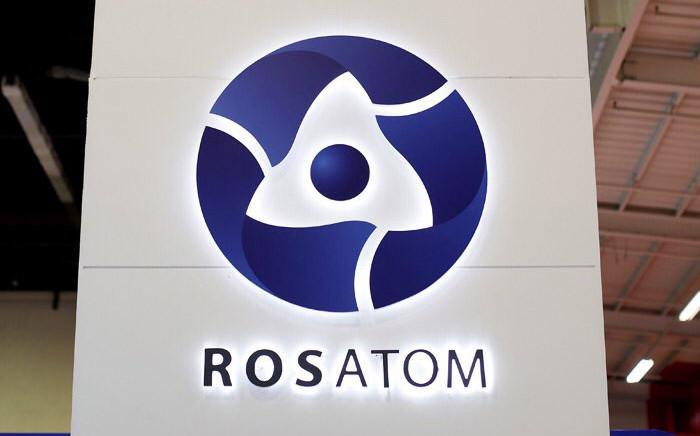 The Rosatom logo. Picture: @Rosatom/Twitter