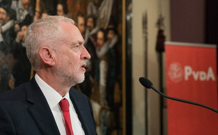 The leader of Britain's opposition Labour party, Jeremy Corbyn. Picture: @JeremyCorbynMP/Facebook.com.