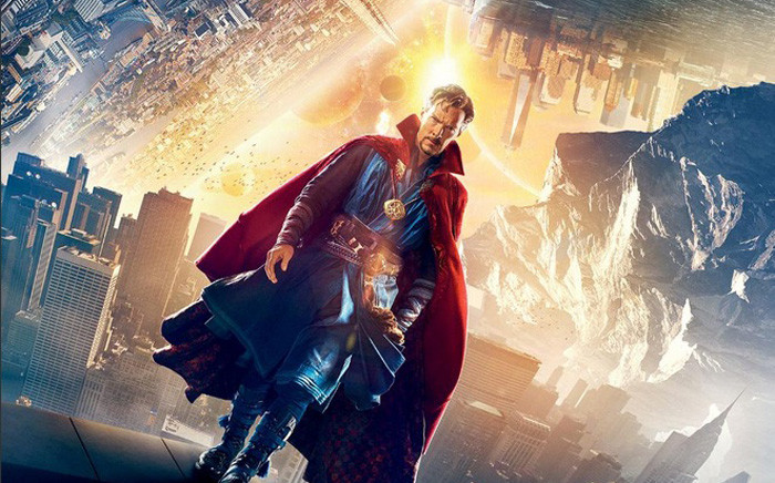 Benedict Cumberbatch from 'Doctor Strange' movie poster. Picture: Twitter/@DrStrange.