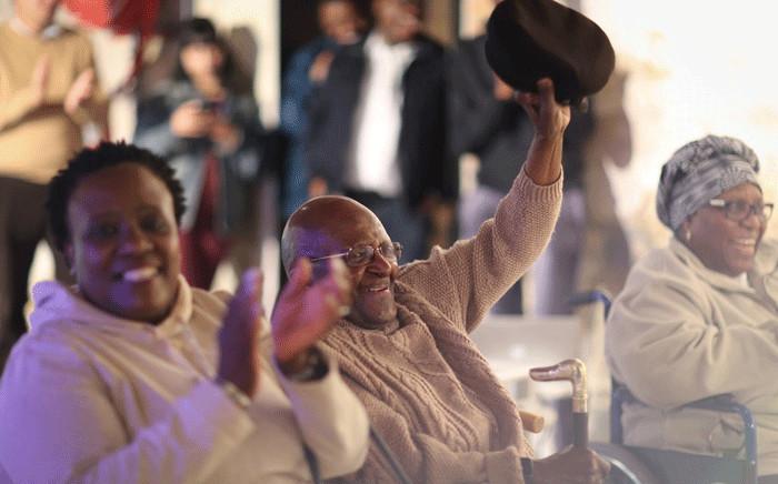 Archbishop Emeritus Desmond Tutu celebrated his 87th birthday on 7 October 2018. Picture: @TutuLegacy/Twitter
