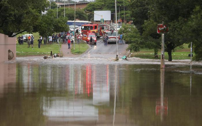 Emergency services rescue people in Centurion following floods on 9 December 2019. Picture: Abigail Javier/EWN.