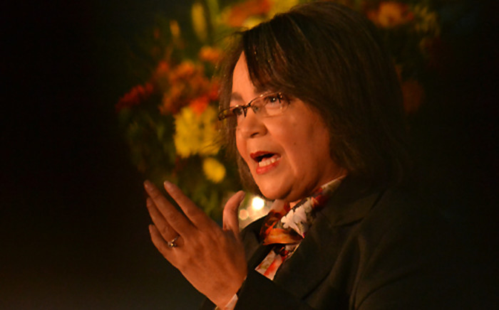 Mayor Patricia de Lille presented CT's mid-term review, outlining progress and job creation.Picture: Aletta Gardner/EWN
