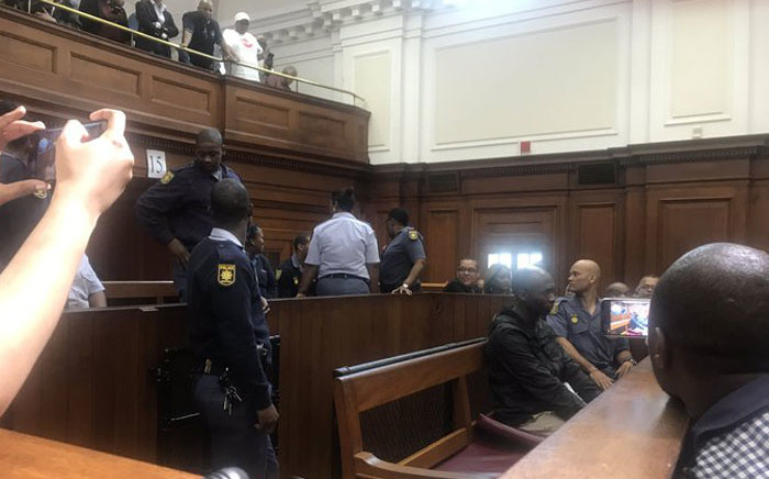 Judge Gayaat Salie-Hlophe sentenced Luyanda Botha to three life terms and five years for defeating the ends of justice. Picture: Lizell Persens/EWN