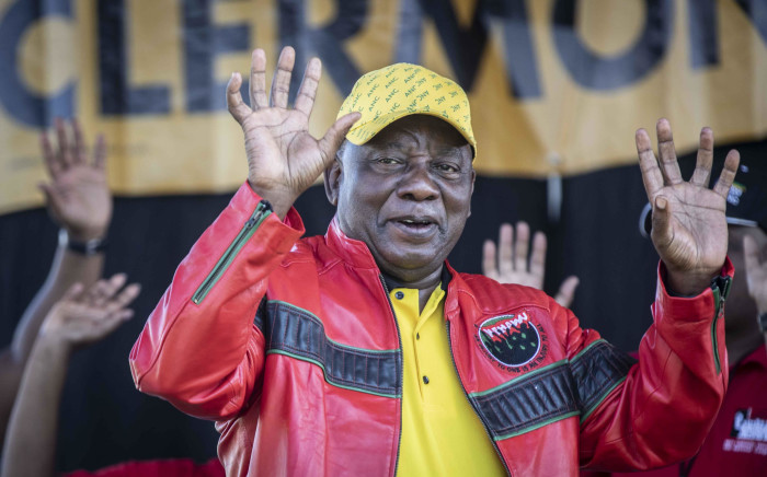 FILE: ANC president Cyril Ramaphosa at Cosatu's May Day rally at Sugar Ray Xulu stadium in Clermont, Durban. Picture: Abigail Javier/EWN