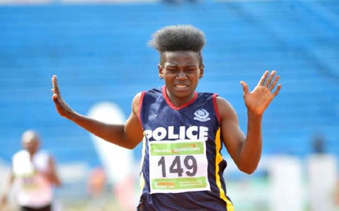 Kenyan athlete Maximilla Imali. Picture: @moscakenya/Twitter.
