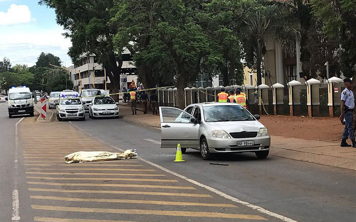 A metro police officer allegedly shot at the man after he failed to stop at a roadblock. Picture: Barry Bateman /EWN.