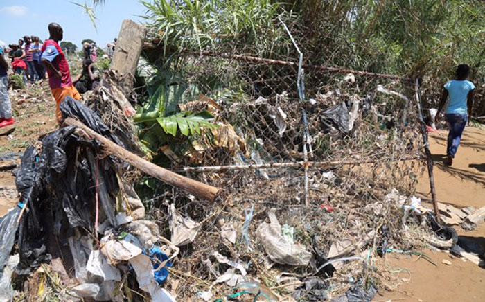 Debris seen in Alexandra pictured following floods in the area on 10 November 2016. Picture: Christa Eybers/EWN.