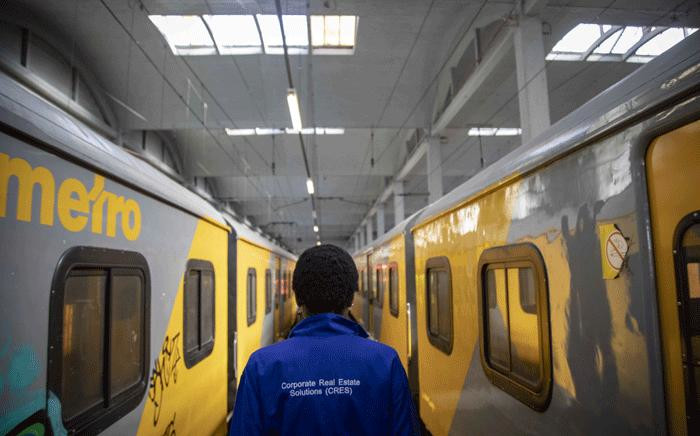 A view inside the Prasa repair depot on 28 May 2018, where trains are fixed, renovated and parts are shipped off for off-site repairs. Picture: Thomas Holder/EWN