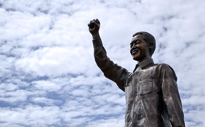 FILE: The Nelson Mandela Statue on Naval Hill, Mangaung, pictured in December 2012. Picture: Aletta Gardner/EWN