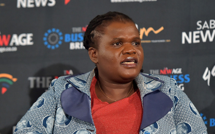 Communications Minister Faith Muthambi hosting a Digital Migration Rollout TNA breakfast meeting at Hilton Hotel in Sandton on 13 July 2015. Picture: GCIS.