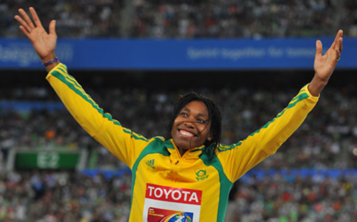 800 metre Olympic silver medalist Caster Semenya. Picture: AFP