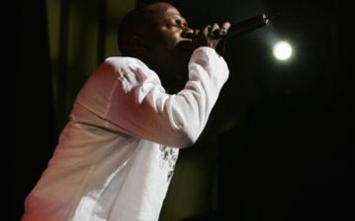 Controversial R&B star Bobby Brown sings for his fans. Picture: Gallo Images/Getty Images