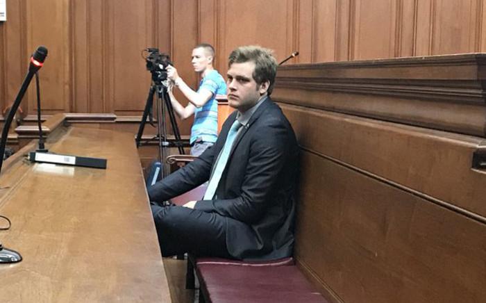 Henri van Breda in the Western Cape High Court on 30 October 2017. Monique Mortlock/EWN