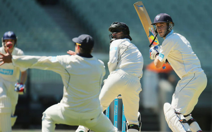 Australia vs Pakistan on the second day of the second and final test in Abu Dhabi on 31 October 2014. Picture: Facebook.