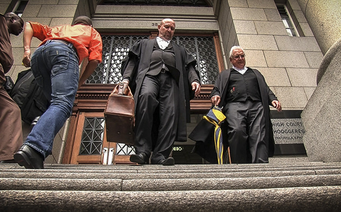 Defence lawyer Francois Van Zyl leaving the Western Cape High Court after Shrien Dewani's murder trial on 30 October 2014. Picture: Thomas Holder/EWN
